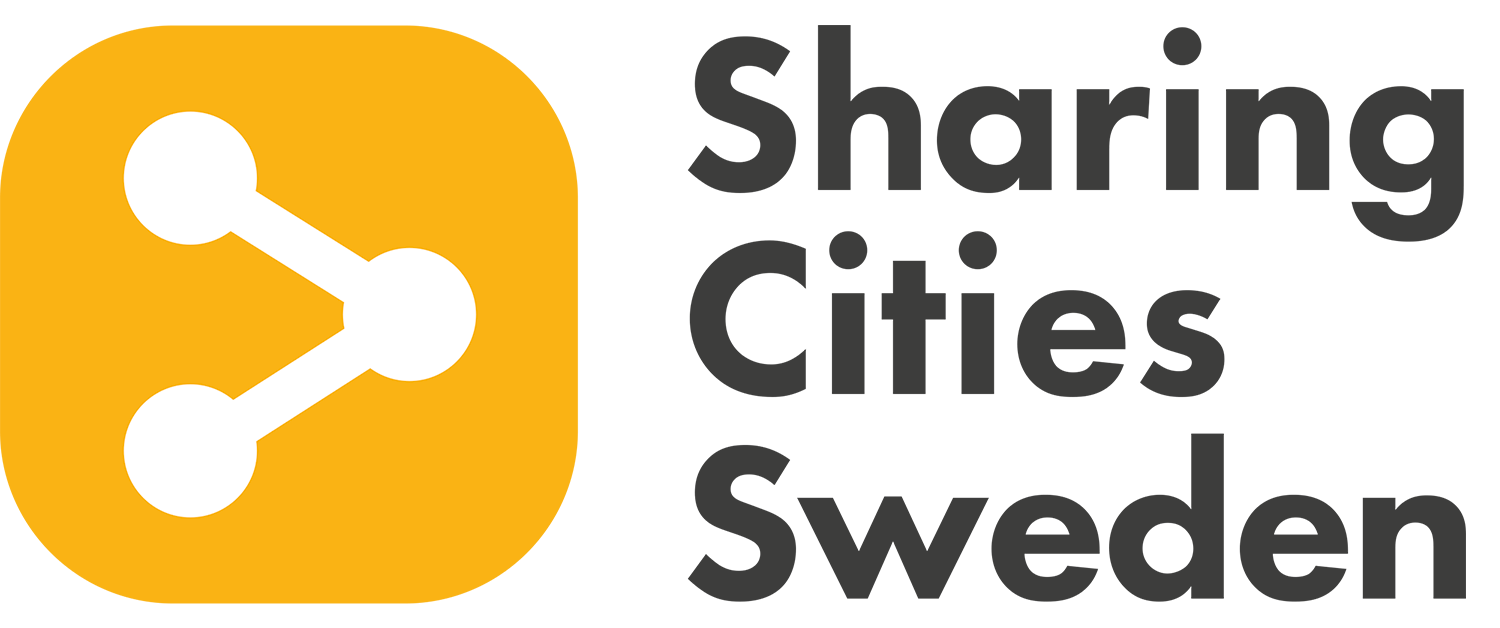Sharing cities Sweden
